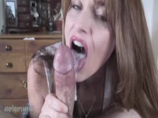Angeliquexxx Is A Cock Sucking French Whore Who Loves The Taste Of Cum