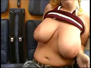 19 yr old Tina from Norway Huuuge Tits