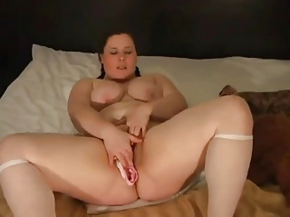 Hot naked woman getting dicked