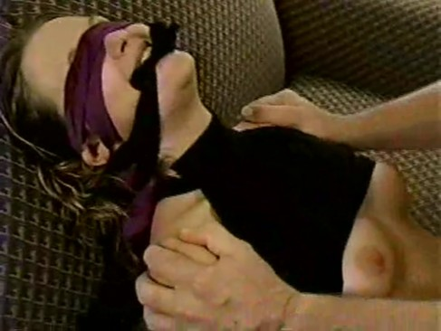 Blonde is forced to suck and fuck in home ...