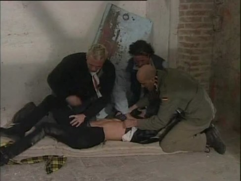 blonde kidnapped by 3 guys and raped hard ...