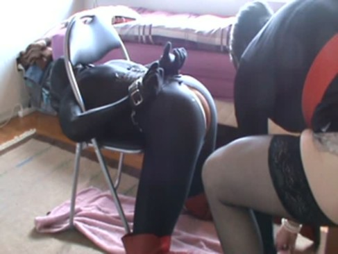 Sissy slave fuck by her mistress