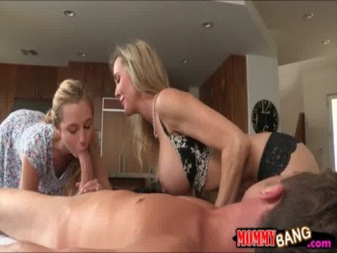 Taylor Whyte and Brandi Love sharing dick ...