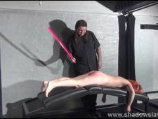 Redhead amateur spanking and tit whipping