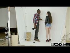 BLACKED Teen Alexis Rodrigiez With Perfect Ass Loves BBC
