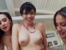 Sex party club girls Lily Jordan Liv Revamped and Cadey Mercury are on