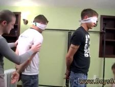 Urinal male dick pissing gay Blindfolded Made To Piss Fuck