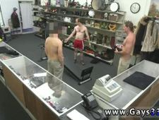Hunk coach undress gay man xxx Fitness trainer gets anal invasion banged