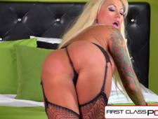 FirstClassPOV Lolly Ink fucking a monster cock bubble butt big tits