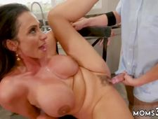 Mature pervert and french milf gets fucked Borrowing Milk From my Neighbor