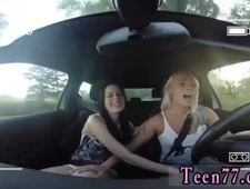 Teen home made Going for a ride